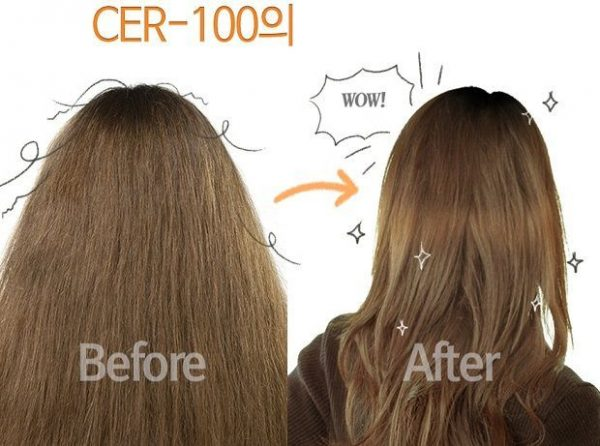 Эссенция для волос с коллагеном Elizavecca Cer-100 Collagen Coating Protein Injection 3