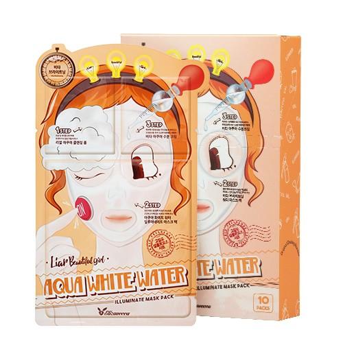 Маска увлажняющая 3-ступенчатая Elizavecca 3-step Aqua White Water Mask Pack, 10 шт
