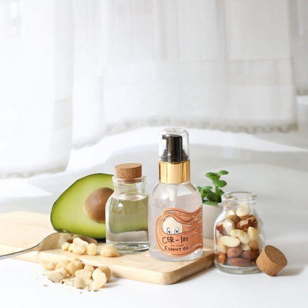 Масло-эссенция для поврежденных волос Elizavecca CER-100 Hair Muscle Essence Oil 2