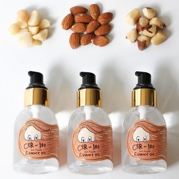 Масло-эссенция для поврежденных волос Elizavecca CER-100 Hair Muscle Essence Oil 3