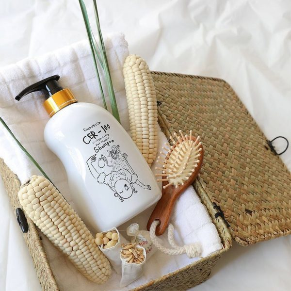 Шампунь для волос с коллагеном Elizavecca CER-100 Collagen Coating Hair Muscle Shampoo 3