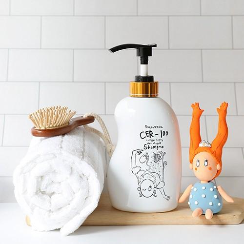 Шампунь для волос с коллагеном Elizavecca CER-100 Collagen Coating Hair Muscle Shampoo 2